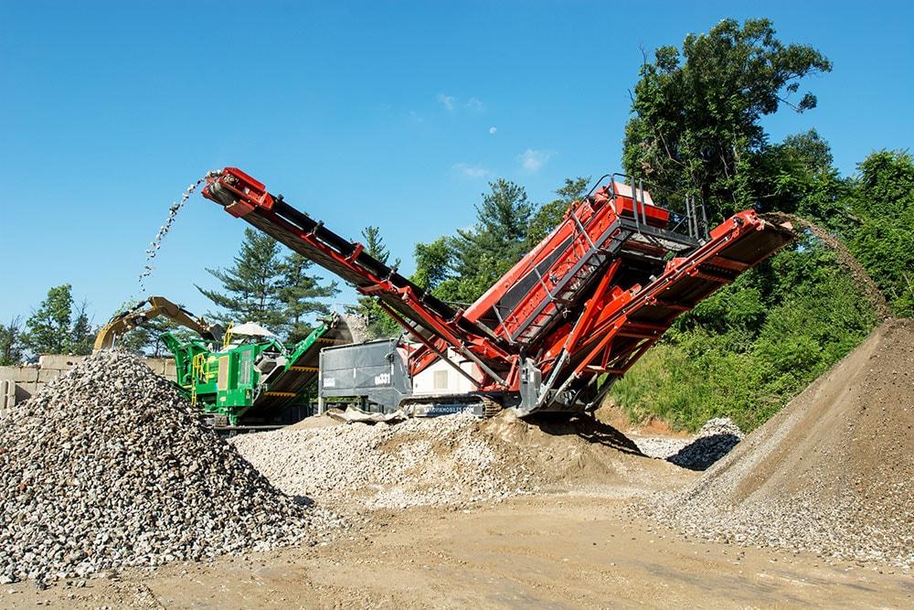 Concrete Ready Mix Road Construction Site Development