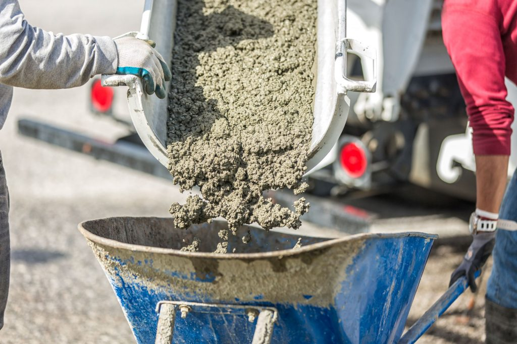 Residential Concrete Supply Pouring